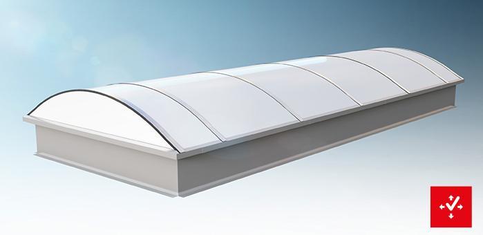 Jet Continuous Rooflights Jet Tageslicht Rwa Gmbh